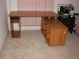 Computer Desk Plans Office Furniture by Oak Computer Desk Small Computer Desk Home Office Desk Compact
