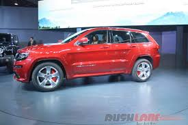 srt jeep 2016 check out jeep grand cherokee srt features at auto expo 2016