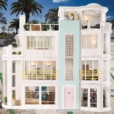 beach house exterior ideas victorian house exterior for doll victorian style house interior