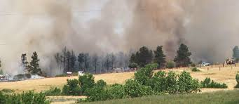 Wildfire Nutrition by Crews Continue To Battle Fire Near Wanblee