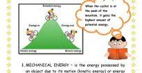 forms of energy anchor chart fifth grade science pinterest for