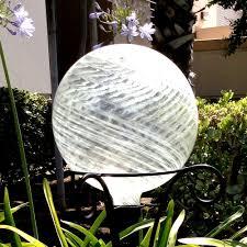 Gazing Globe Pedestal Outdoor Decor Patio Lawn U0026 Garden Brandsonsale Com