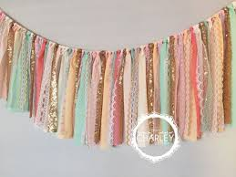 25 unique ribbon banner ideas on rag banner fabric