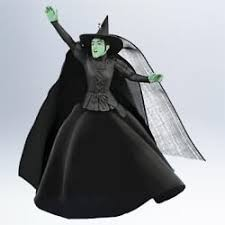 2011 wizard of oz witch of the west hallmark ornament