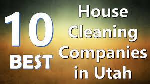 10 best house cleaning companies in utah youtube
