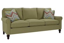 Pillow Arm Sofa Slipcover by Classic Comfort Curved Arm Three Loose Pillow Back Sofa Wayfair