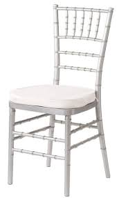 silver chiavari chairs vigens party rentals chiavari and folding chair rentals los angeles