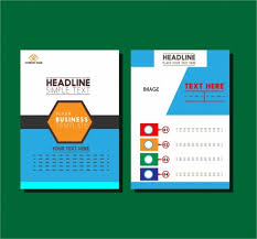 flyer graphic design layout business flyer design layout modern style vectors stock in format