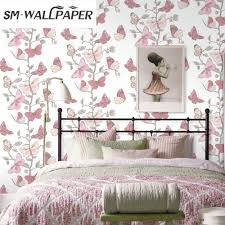 Home Interior Online Shopping Compare Prices On 3d Flower Wallpaper For Home Decor Online