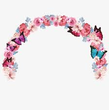 wedding flowers clipart wedding flower arch flowers arch linger creative wedding png
