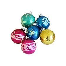 1960s ornaments w box set of 12 chairish
