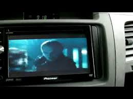 pioneer avh p4000dvd ipod touch iphone video demo youtube