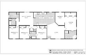 Mobile Home Floor Plans by Bedroom Double Wide Mobile Home Floor Plans 4 Bedroom Double Wide