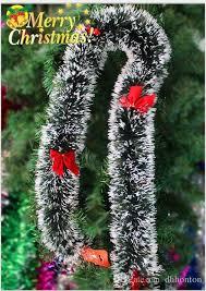 pine garland merry tree decoration