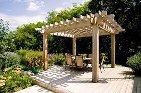 decks with pergolas deck traditional with arbors area rug backyard