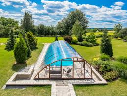 pool with a roof in case you need to be winter proof albixon