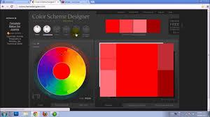 color scheme designer 3 youtube