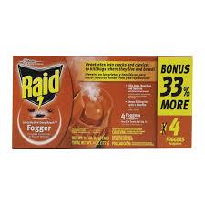 raid 1 5 oz house u0026 yard fogger fleas roaches yard control ace