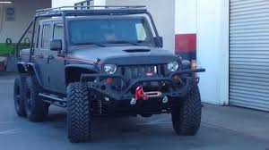 hauk hellcat jeep wrangler hellhog u0027s first trip youtube