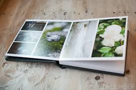 10x10 leather wedding album by books in black tie black