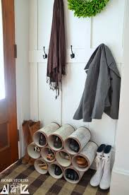 shoe rack entryway diy shoe organizer designs a must have piece in any home