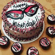 halloween party cincinnati barbiecakes birthday cake i made for my dad bearcats cincinnati