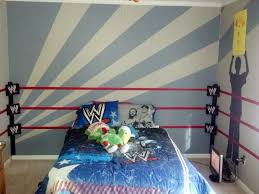 wwe bedroom decor wwe room ring and traced silhouettes of our 7 year old as a super