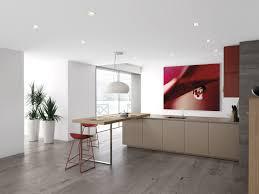 Minimalist Kitchen Ideas by Minimalist Kitchen With Red Accents By Comprex
