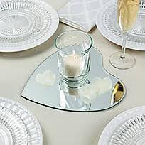 10 Inch Mirror Centerpiece by Round Table Mirrors