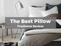 Big White Bed Pillows Best Bed Pillow Freshome Review