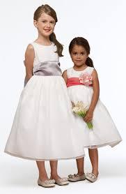 Sleeveless Organza Dress Wedding Entourage Infants And Little Girls