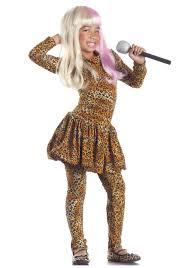 Leopard Halloween Costume Child Leopard Rap Superstar Costume Halloween Costumes