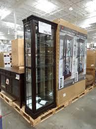 curio cabinet cornerio cabinet costco cabinets pulaski in