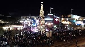 christmas tree lighting san francisco pier 39 11 22 2014 youtube
