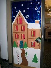 christmas door decorations preschool best images collections hd