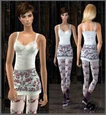 Liana Sims 2 Preview Women S Clothing Swimwear Liana Sims 2 Preview Women U0027s Clothing Casual Ts2 Af