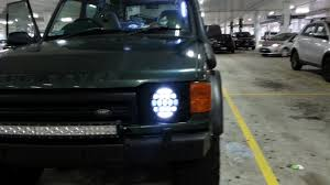 discovery 2 rear light conversion head light conversion discovery 1 2 to led round 7 youtube