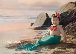 Infant Mermaid Halloween Costume Crochet Baby Mermaid Mermaid Tail Baby Mermaid