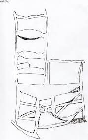 Chair Jpg Rocking Chair Drawing Negative Space Drawing Piper U0027s Art Blog