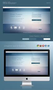 user interface design login user interface design options on behance
