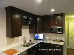 Crown Moulding For Kitchen Cabinets Kitchen Crown Molding And Floating Shelves Hometalk