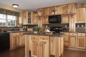 Kitchens With Hickory Cabinets Decorating Wonderful Home Interior Design With Hickory Barley