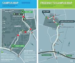Riverwalk Map Brandstater Gallery La Sierra University