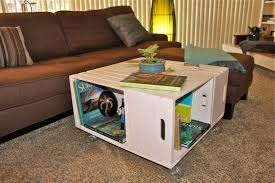 best wine crate coffee table