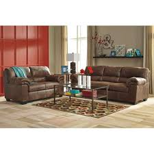 Ashley Sofa Leather by Ashley Bladen Brown Padded Arm Faux Le Furniture And Mattress Outlet