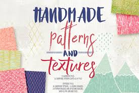 handmade patterns and textures patterns creative market
