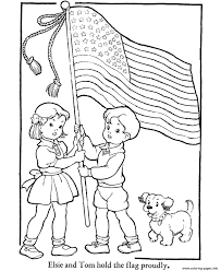 kids american flag 8bd2 coloring pages printable