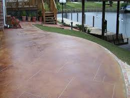 Patio Concrete Stain Ideas by Outdoor Concrete Patio How Do You Stain Concrete Patio Concrete