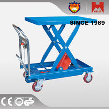 Pallet Lift Table by Hydraulic Pallet Lift Small Platform Scissor Lift Table Buy