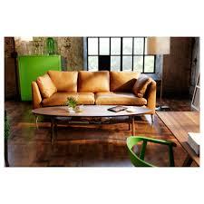 Ikea Leather Sofa Sater Ikea Stockholm Leather Sofa Radiovannes Com